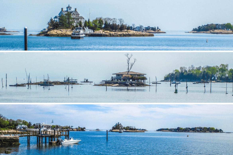 Thumble Islands à visiter au Connecticut