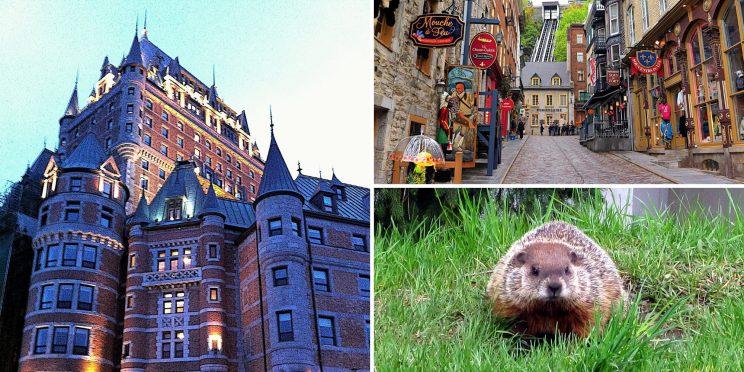 Visiter Quebec et ses monuments dans l'est du Canada