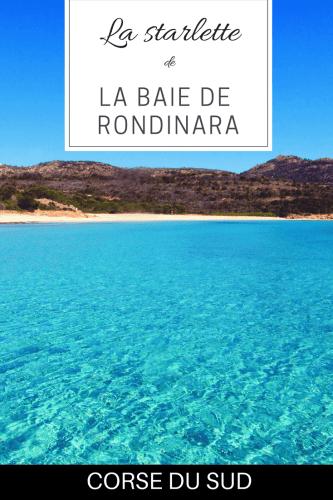 La Baie de Rondinara en Corse du Sud sur Pinterst