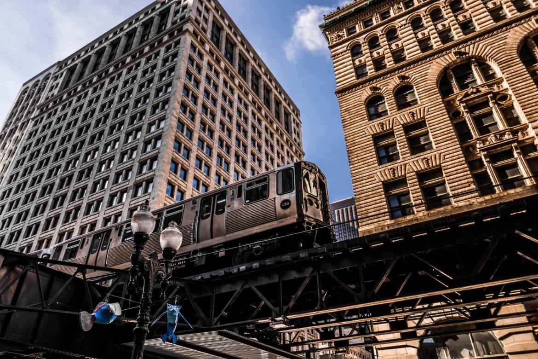 Le métro aérien de Chicago
