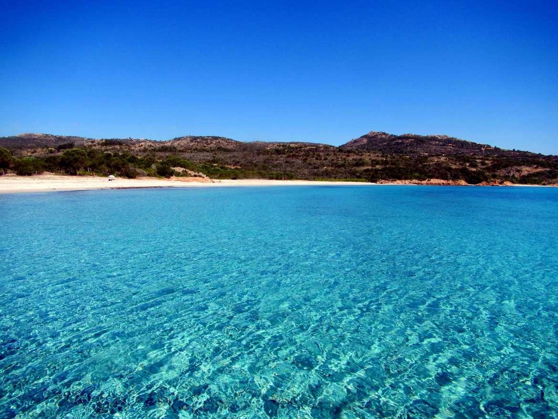 Plage de Rondinara en Corse du Sud