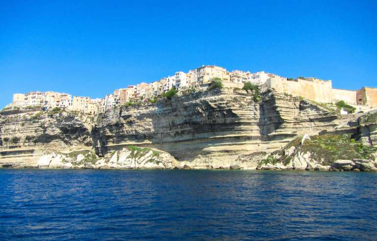 Falaises de Bonifacio en Corse du Sud