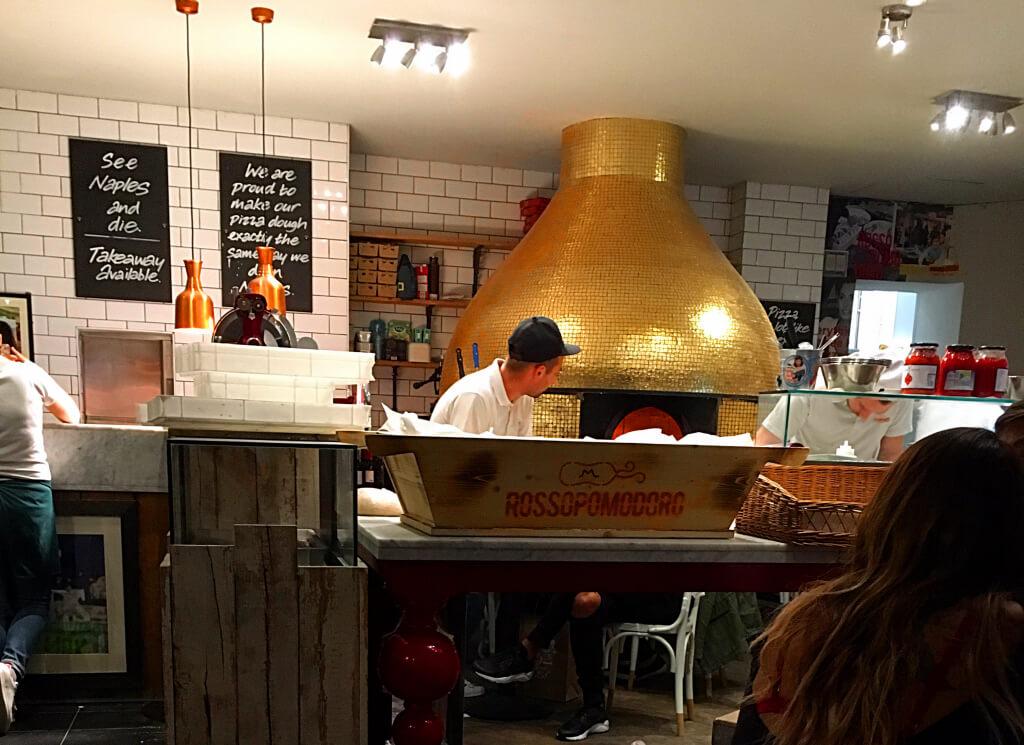 Rossopomodoro la meilleure pizzeria de Londres