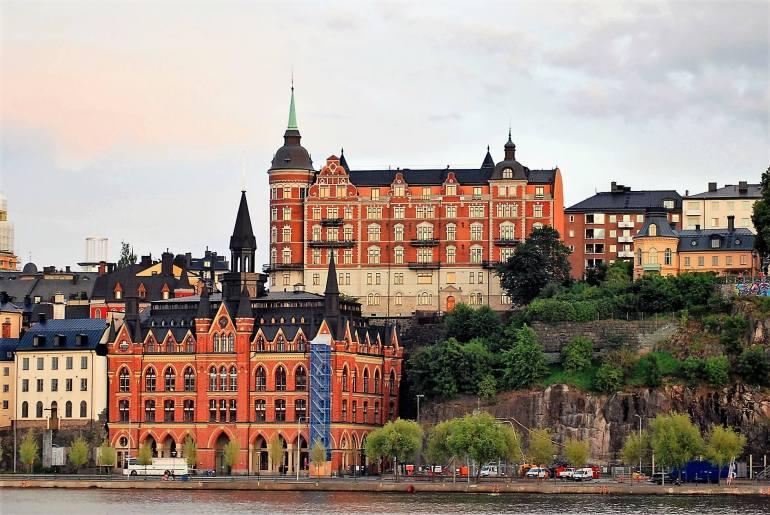 Quartier de Södermalm à Stockholm