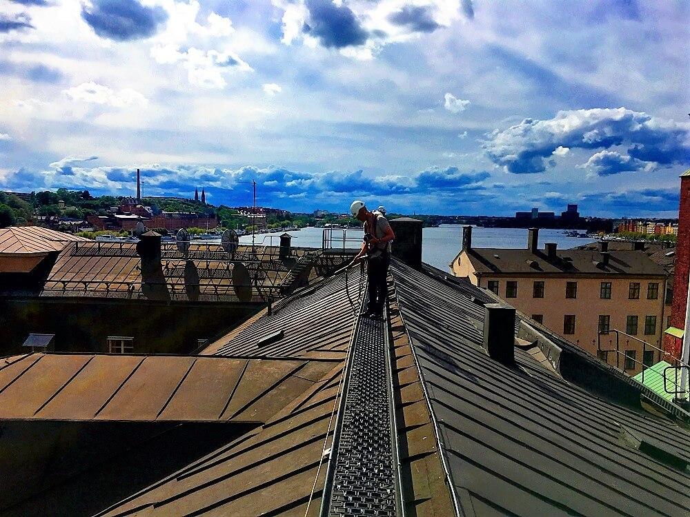 Visite insolite sur les toits de Stockholm