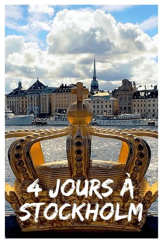 Visiter Stockholm en 4 jours Pinterest