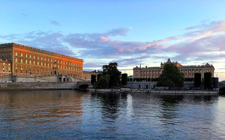 Vue sur la vieille ville de Stockholm