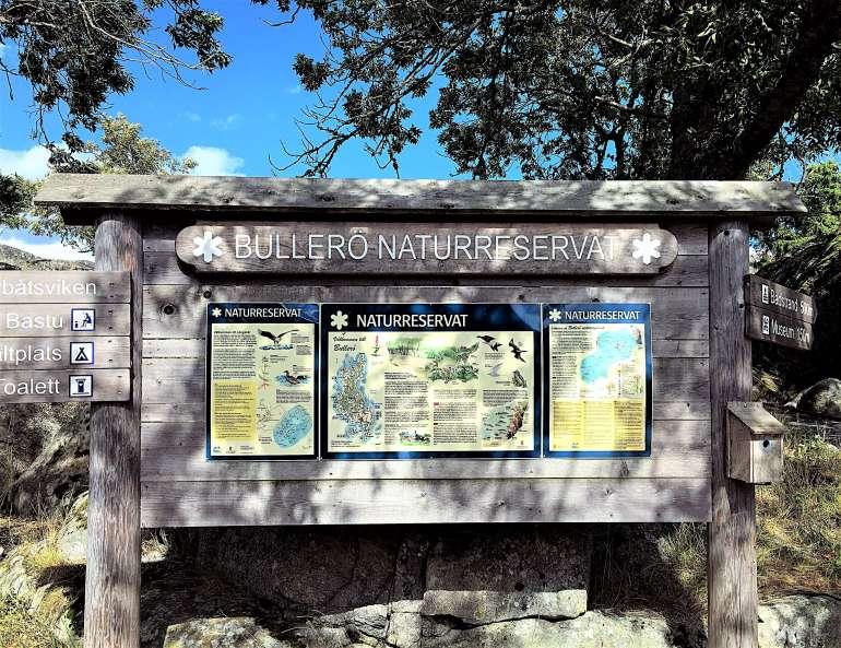 Visite de la réserve naturelle de Bullero en Suède
