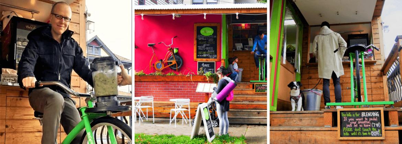 Le bar à jus alternatif à Portland Oregon