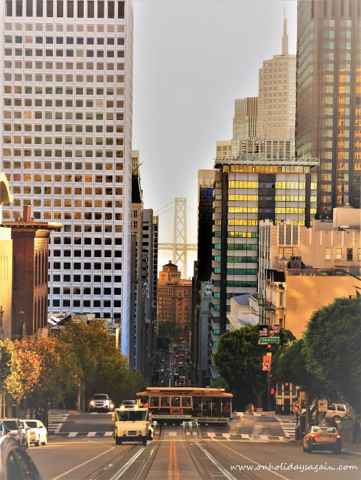 Visiter San Francisco en 1 jour depuis California street à Nob Hill
