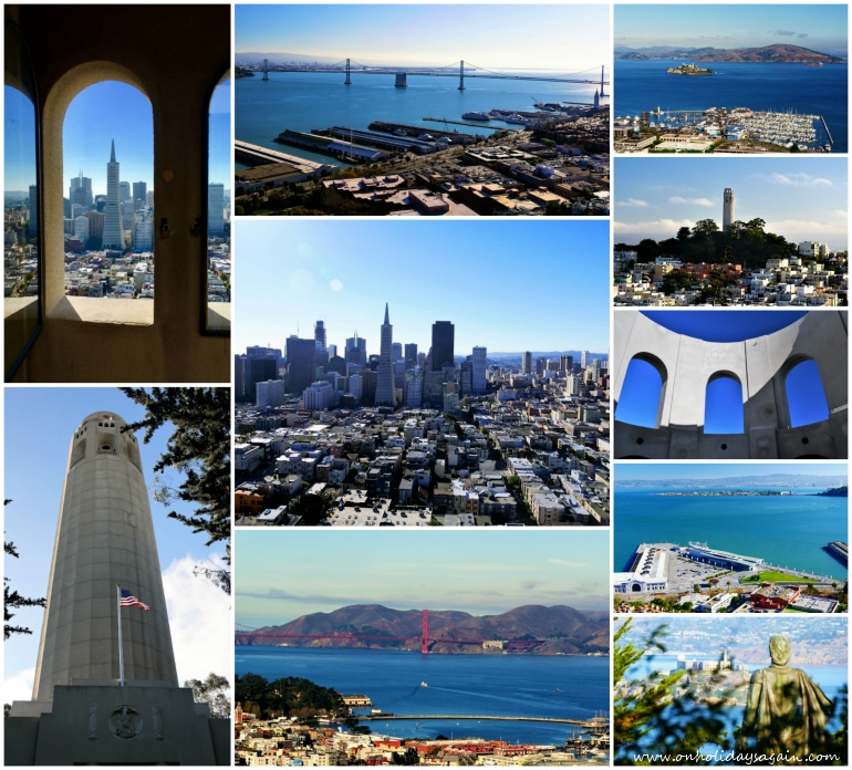 Visiter San Francisco en 1 jour Coit Tower Telegraph Hill San Francisco Californie USA blog voyage suisse cosy on holidays again