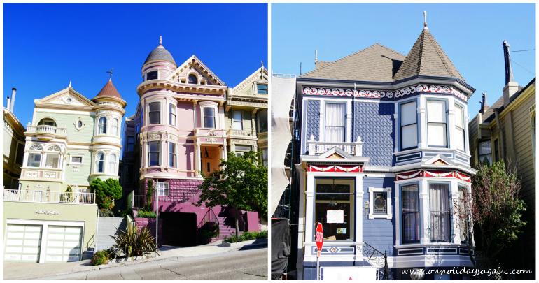 Les jolies maisons victoriennes de San Francisco en Californie