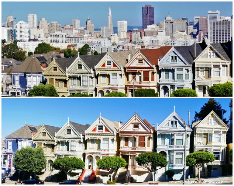 Seven Painted Ladies sont un incontournable pour visiter San Francisco en 1 jour