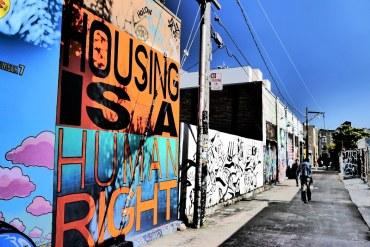 Street art San Francisco Mission District Californie
