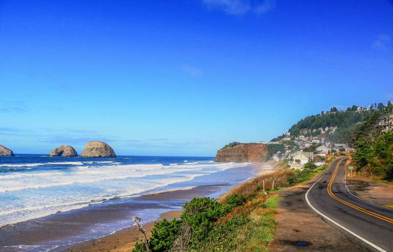 Route d'Oceanside Road trip en Oregon