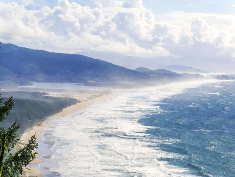 Vue depuis Cape Lookout