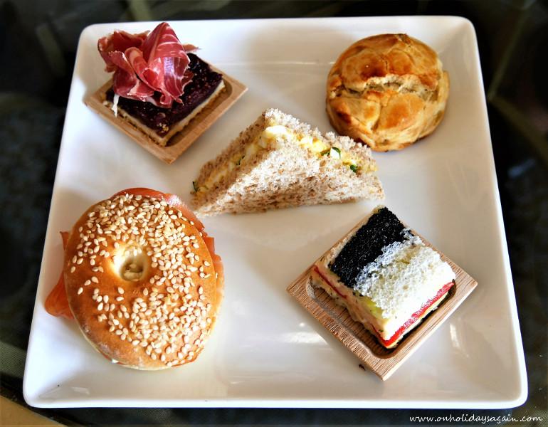 Afternoon tea du Beau-Rivage à Lausanne