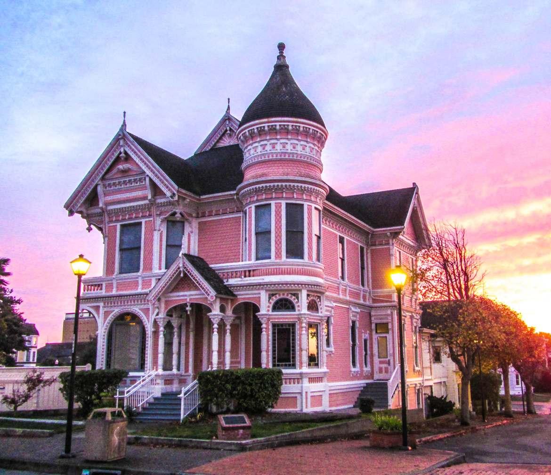 Maison victorienne Eurkea Californie du Nord