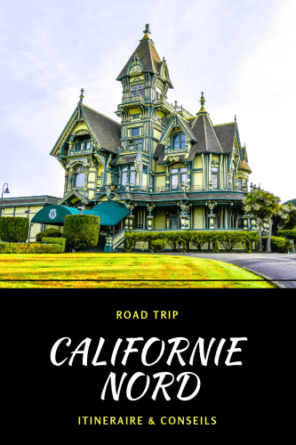 Road trip Californie du Nord Pinterest
