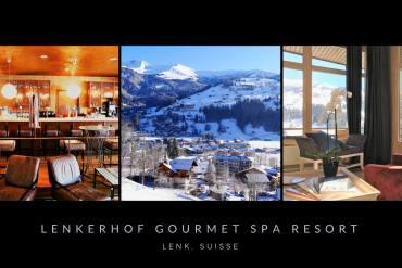 Séjour romantique en Suisse au Lenkerhof