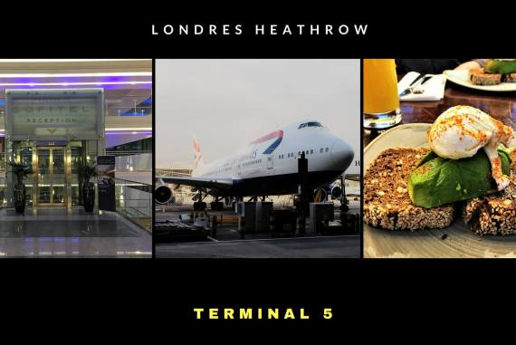 Escale à Londres Heathrow