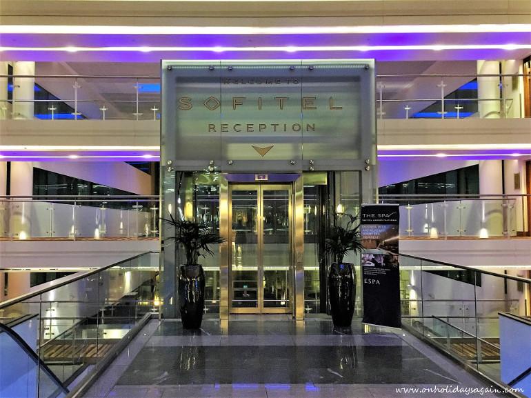 Le Sofitel dans le Terminal 5 de Londres Heathrow