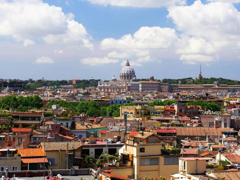 Piazza Napoleone un endroit pour les amoureux à Rome