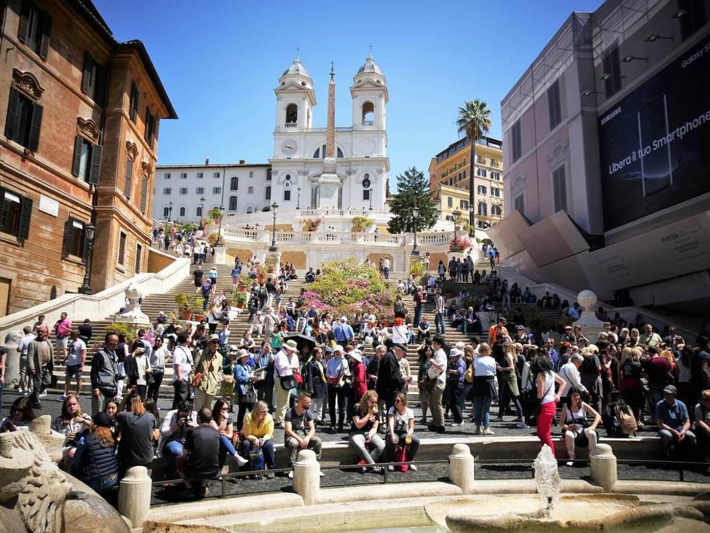Piazza di Spagna à Rome Italie