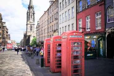 Royal Mile pour visiter Edimbourg en 3 jours