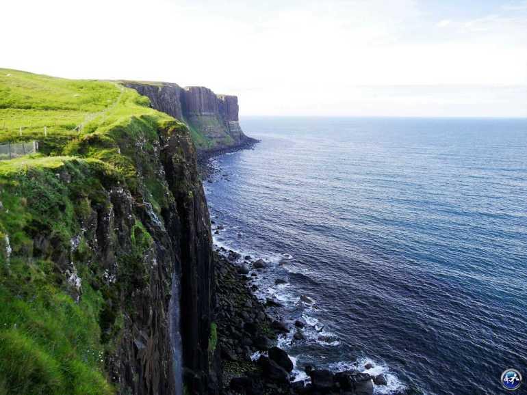 Kilt Rock sur l'Ile de Skye en Ecosse