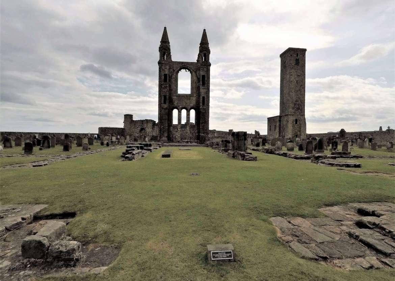 Les-ruines-de-St-Andrews