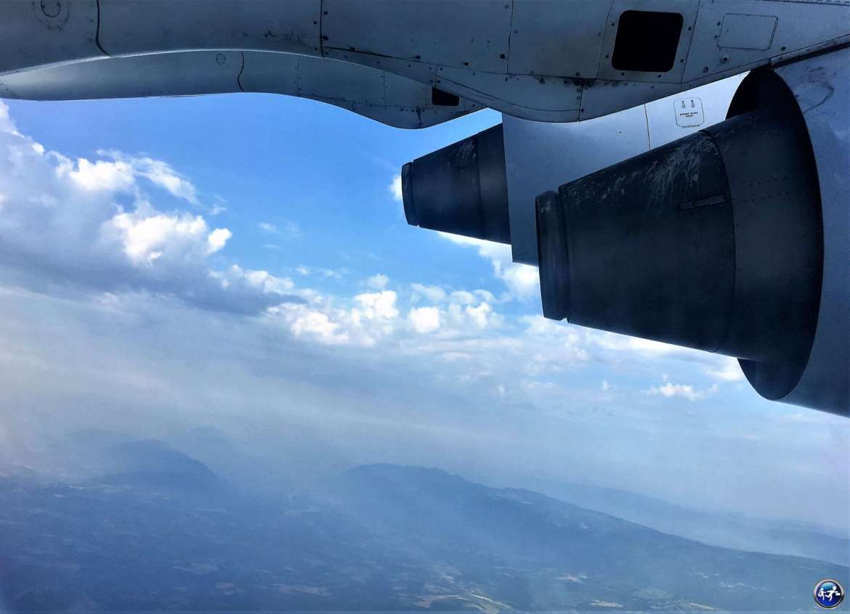 Visiter la Belgique avec le Hi Belgium Pass, vue depuis l'avion