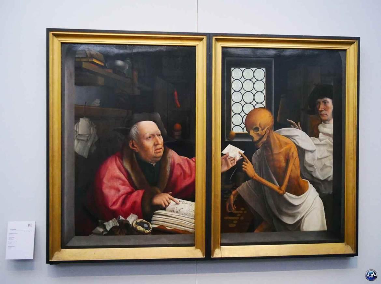 Que visiter à Bruges, le musée groeninge pour découvrir les primitifs flamands avec des tableaux originaux