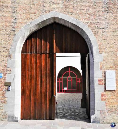 Jolie architecture de Bruges en belgique