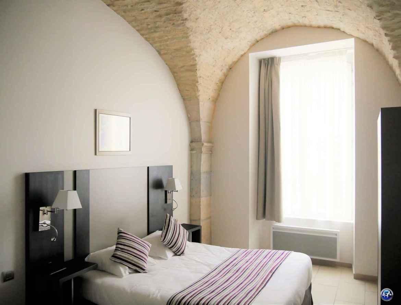 Chambre dans l'appart'hôtel Odalys Les Cordeliers à Dijon en Bourgogne