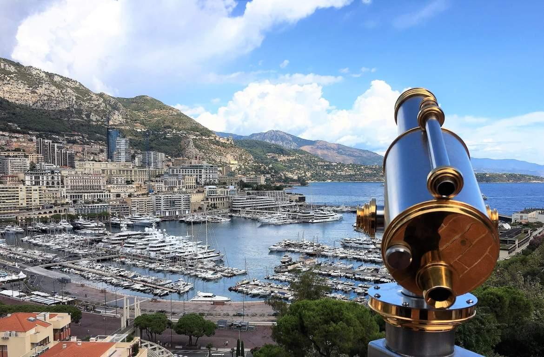 Vue sur Monaco depuis le Rocher