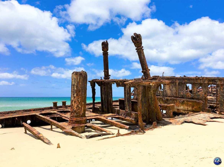epave ss moheno 75 miles beach fraser island queensland australie blog voyage suisse cosy