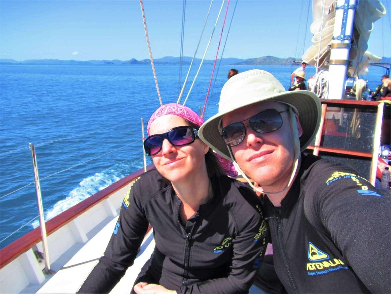 Combinaison de snorkeling pour les iles Whitsundays