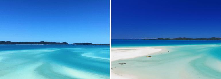 Le lagon des iles Whitsundays Queensland