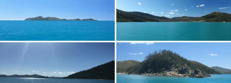 Les iles Whitsundays en Australie