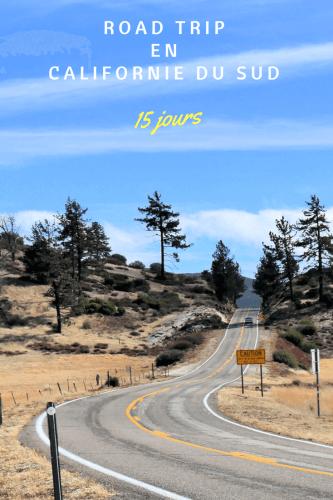 Road trip en Californie du Sud Pinterest