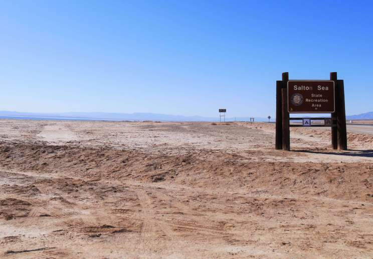 Visiter le Salton Sea recreation area en Californie du Sud