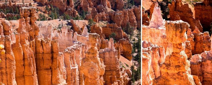 Le marteau de Thor depuis Sunset Point à Bryce Canyon