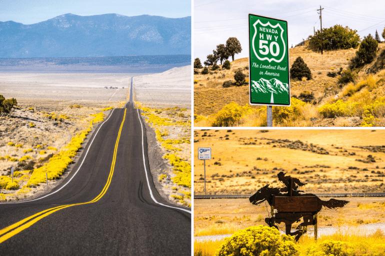 Route 50 et le territoir du Pony Express