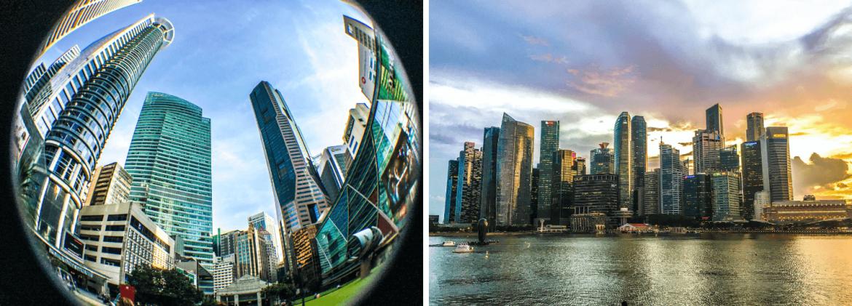 Downtown à visiter à Singapour