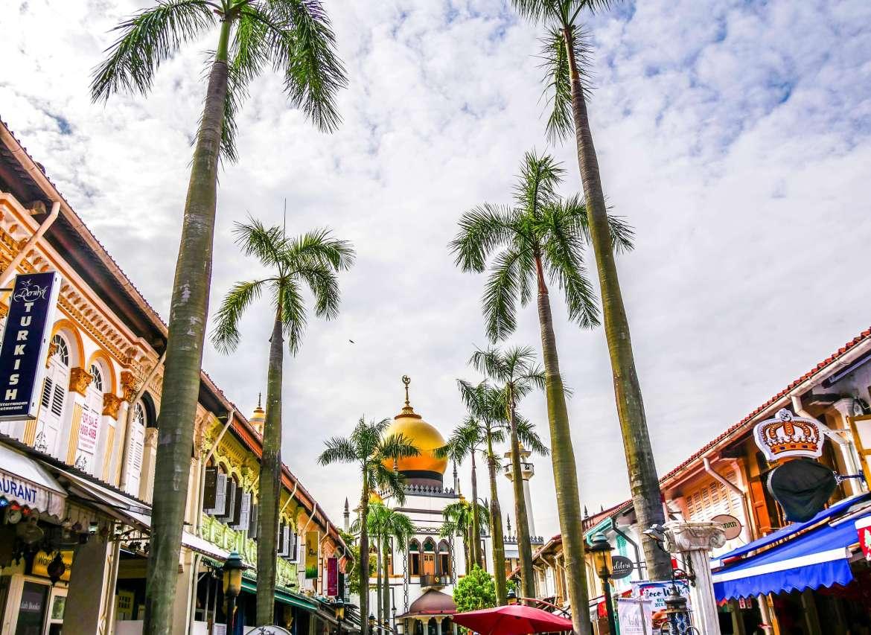 Muscat street à Kampong Glam à visiter à Singapour