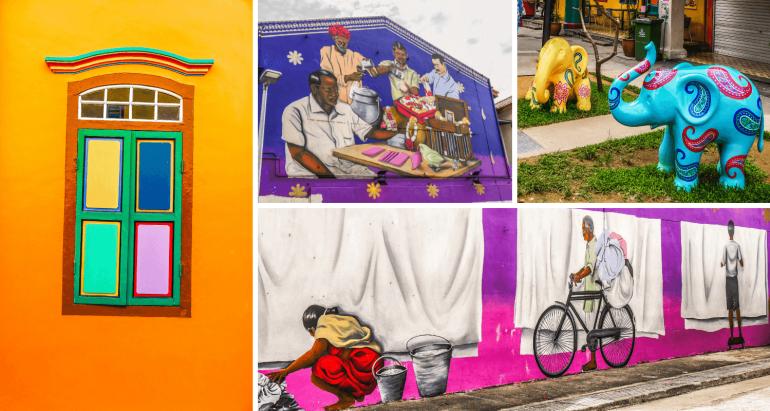 Street art quartier indien Singapour