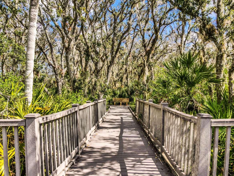 Randonnée Merritt Island Floride