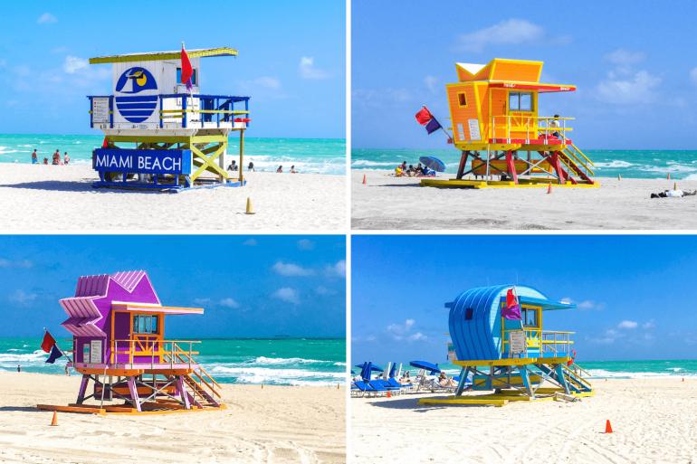 Visiter Miami Beach et ses cabanons de plage