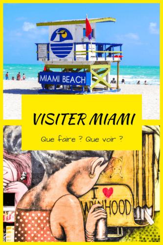 Visiter Miami et que faire à Miami Pinterest